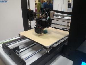 3D-принтер в действии